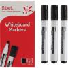 STAT WHITEBOARD MARKER BULLET 1.3mm Black