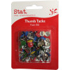 STAT THUMB TACKS Assorted Pack of 100