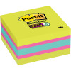 Post it Super Sticky Note 2027-SSGFA 76mm x 76mm 360 Sheets Cube Brights