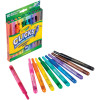 Crayola Clicks Washable Retractable Markers Pack of 10 Assorted Colours