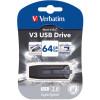VERBATIM STORE N GO Version 3 V3 Flash / USB Drive 64gb Grey