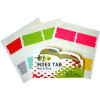 GOLD SOVEREIGN INDEX TABS 44x40mm Multi-Coloured Pack of 24