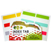 GOLD SOVEREIGN INDEX TABS 22x40mm Multi-Coloured Pack of 36