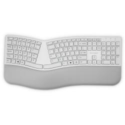Kensington Dual Wireless Ergo Keyboard Grey