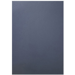 GBC Binding Covers A4 250gsm Leathergrain Pack of 100 Navy