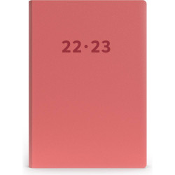 Collins Mira Financial Year Diary A5 Week to View Peach