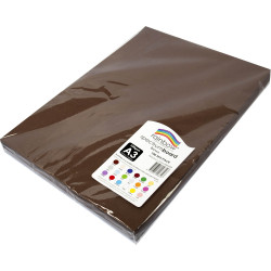 Rainbow Spectrum Board A3 220gsm Brown 100 Sheets
