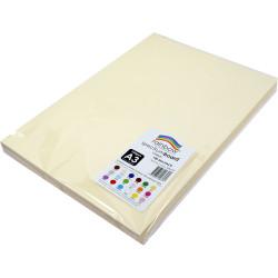 Rainbow Spectrum Board A3 220gsm Cream 100 Sheets
