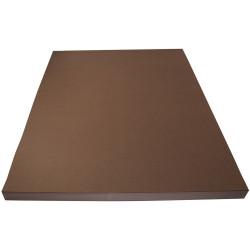 Rainbow Spectrum Board 510X640mm 220gsm Brown 100 Sheets