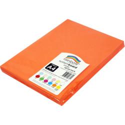 Rainbow System Board A4 150gsm Orange 100 Sheets