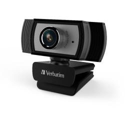 Verbatim 1080P Full HD Webcam Black/Silver