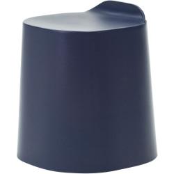 Buro Peekaboo Student Stool Stackable Lightweight Strong Poly Shell Navy Blue 4
