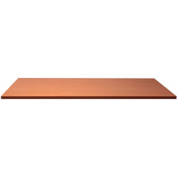 Rapidline Melamine Rectangle Table Top Only 25mm Thick 1200Wx600D Cherry