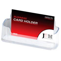 Deflect-O Business Card Holder Single Tier Landscape