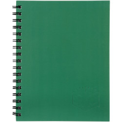 Spirax 511 Hard Cover Notebook A5 200 Page Green