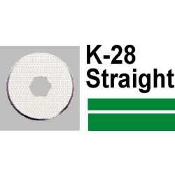 CARL K28 STRAIGHT BLADE FOR DC200 AND DC230 PK2