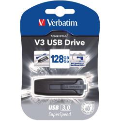 VERBATIM STORE N GO Version 3 V3 Flash / USB Drive 128gb Grey