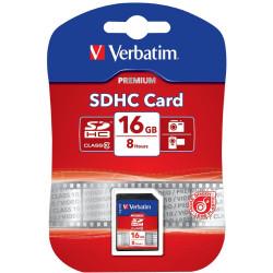 VERBATIM? SDHC MEMORY CARDS 16GB (Class 10)