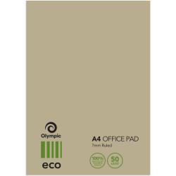 TUDOR ECO 100% R/C OFFICE PADS A4