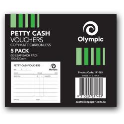PETTY CASH VOUCHER 50 LEAF PK5 PK5