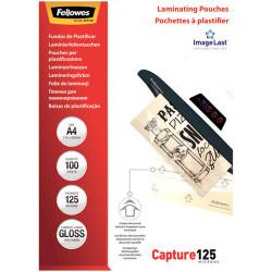 Fellowes Laminating Pouches A4 125 Micron