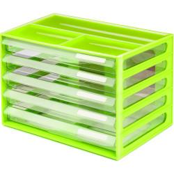 Italplast A4 Document Cabinet Lime