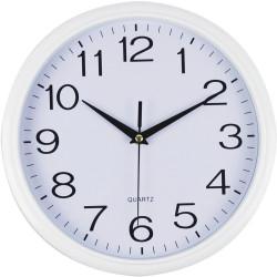 Italplast Wall Clock White Trim
